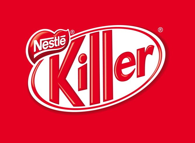 Making KitKat look like a Killer for Greenpeace