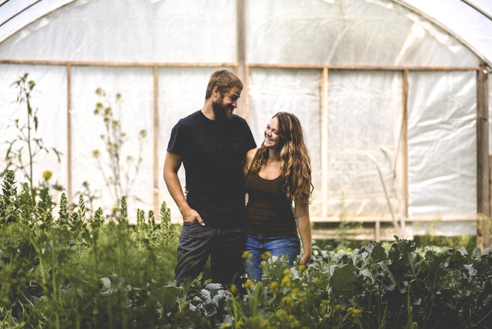 Forager Farm- Streeter, ND  Jonathon + Hannah Moser