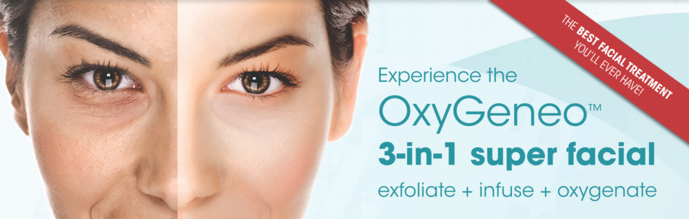 OxyGeneo exfoliation treatment