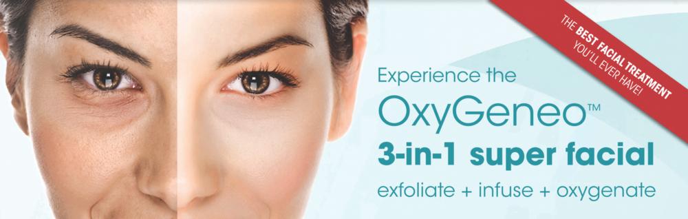 OxyGeneo exfoliation treatment