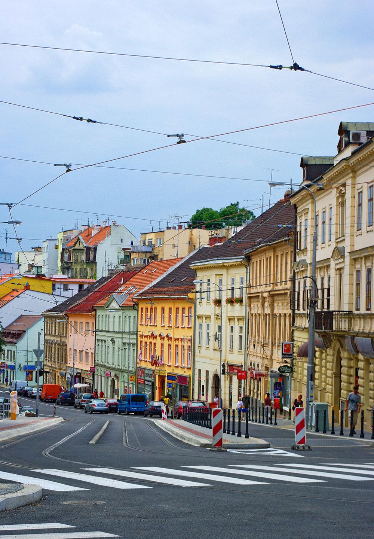 Street photography of Brno Czech Republic