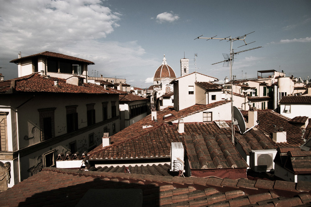 Rooftops of Florence and the Duomo