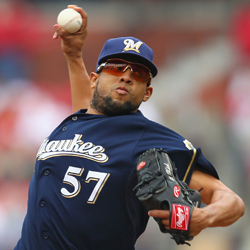 The Orioles acquired Francisco Rodriguez to fill their need for another late-inning right-handed reliever.