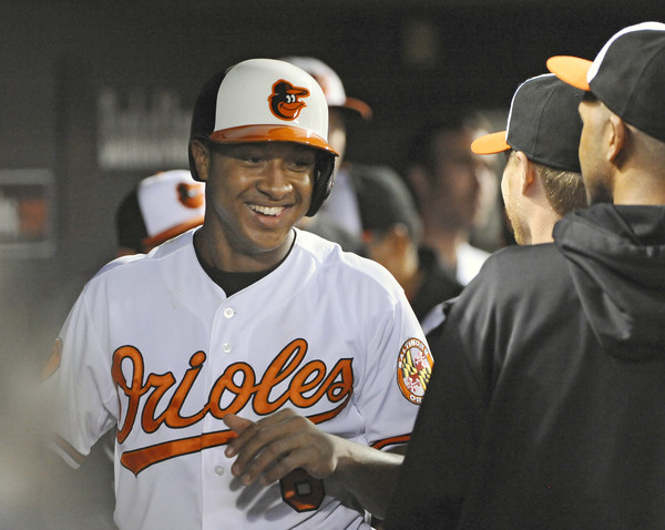 The Orioles hope that Jonathan Schoop is their starting second baseman of the future.