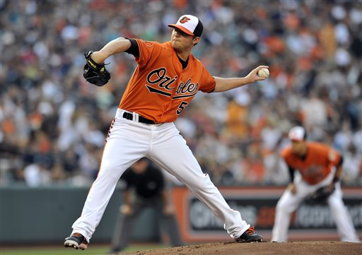 If Zach Britton continues his strong Grapefruit League performances, could he possibly bump Bud Norris from the starting rotation?