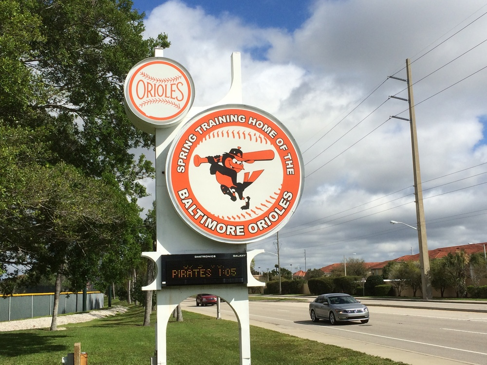 Ed Smith Stadium Complex in downtown Sarasota, Florida (photo credit: Tim Cooke)