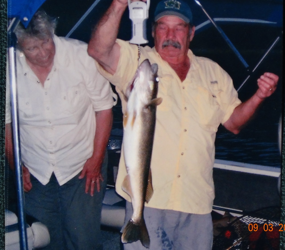 Tom and Dianne with their big fish