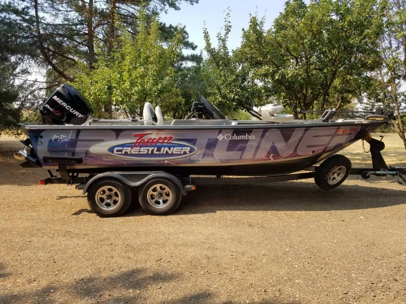 Crestliner for Sale — Spokane Walleye Club