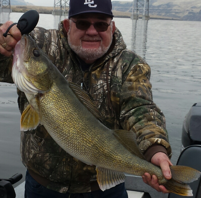 Fred caught and released this big walleye.