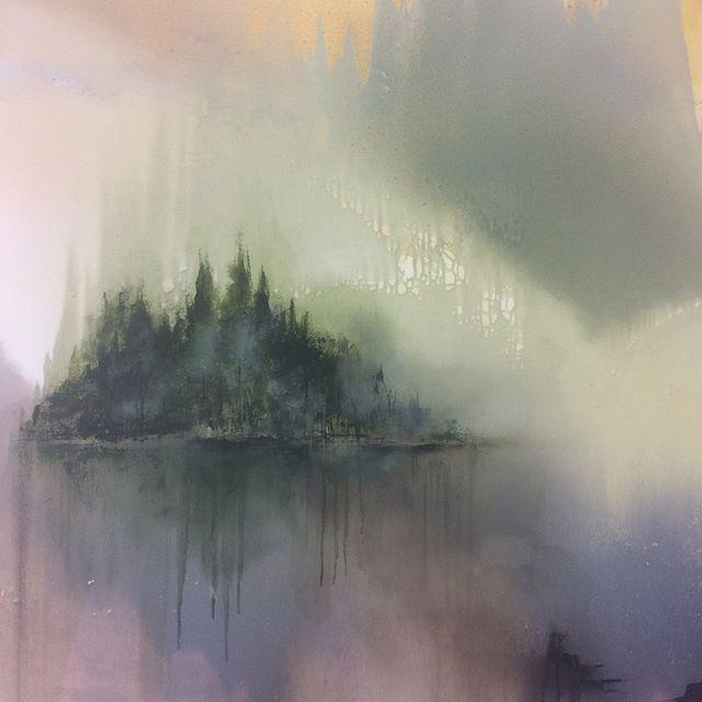 Oljemålning/Oilpainting 103 x 103cm