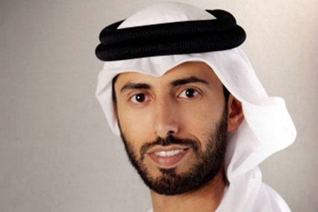 Suhail Al Mazrouei, UAE Minister of Energy. At 39, he is the youngest member of the UAE Cabinet.