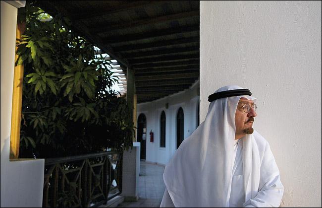 Sadad al-Husseini, former Aramco executive (Stephanie Kuykendal/Corbis, for The New York Times)