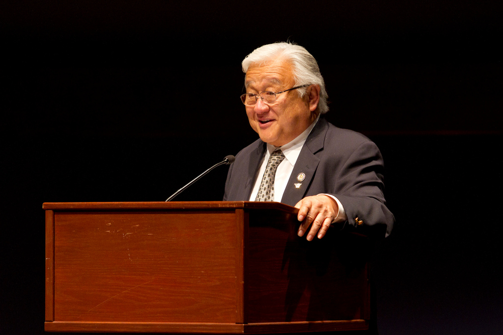 Rep. Mike Honda speaks at the 2011 annual conference