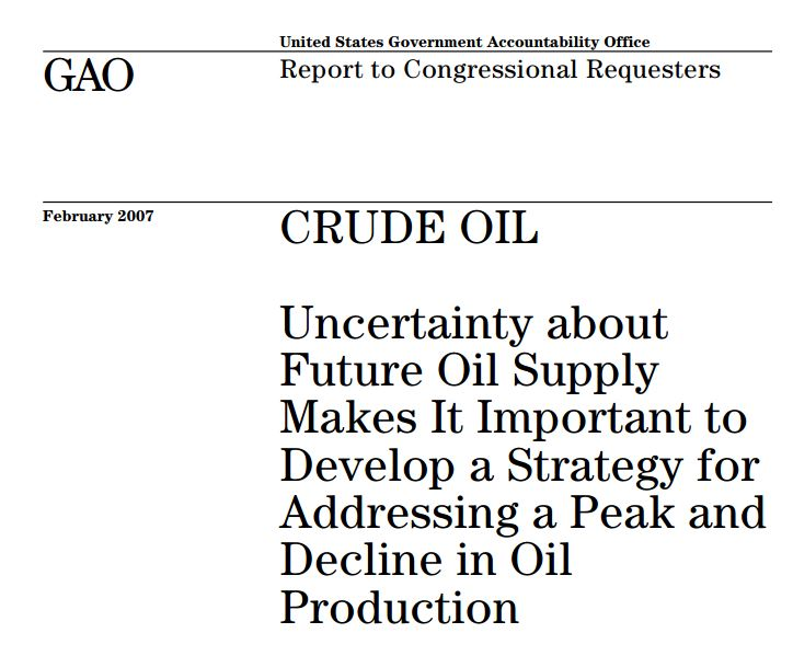 That Time the U.S. Government Wrote a Report on Peak Oil thumbnail
