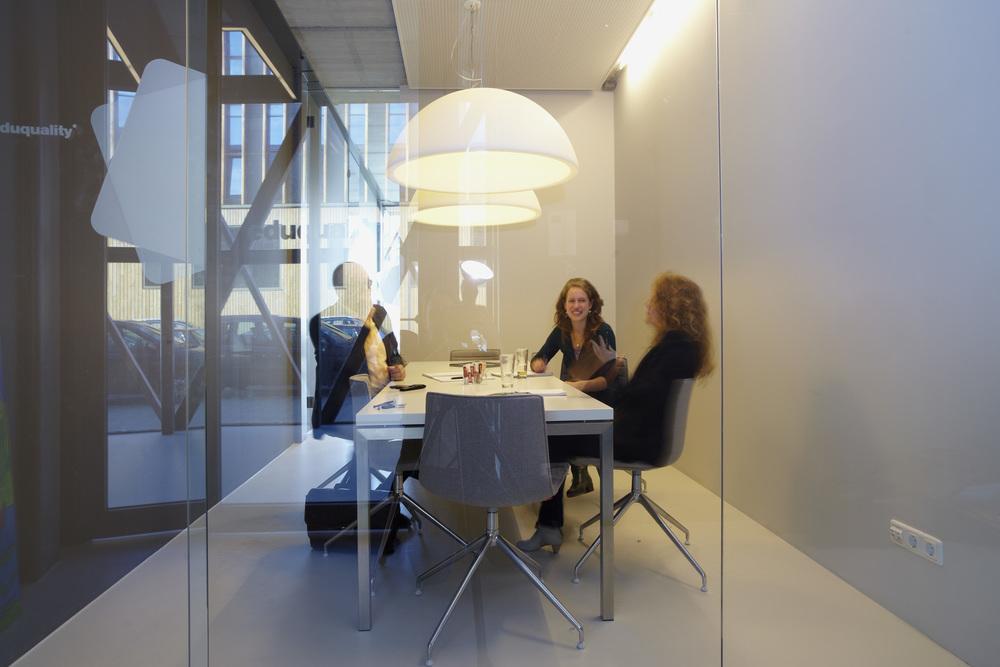 Bespreekruimtes met rust, ruimte én daglicht