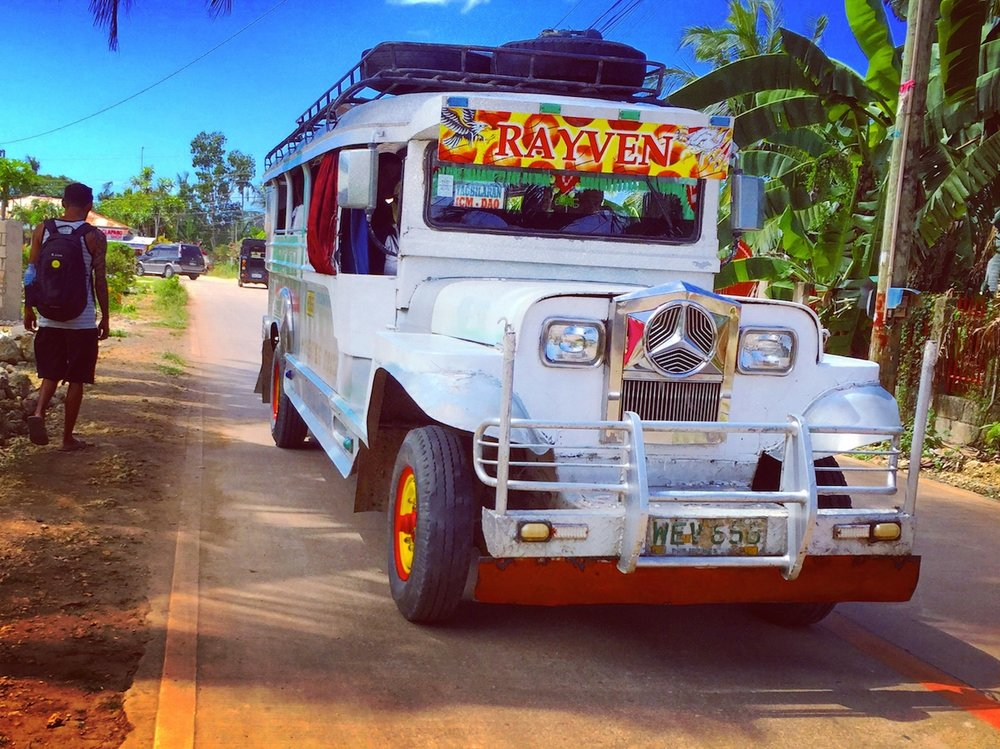 Around Panglao in the Jeepney