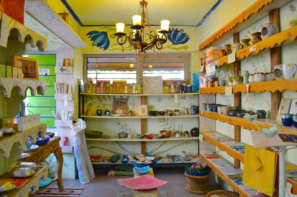 Sunlit Paths - a shop selling products from Auroville and Pondicherry