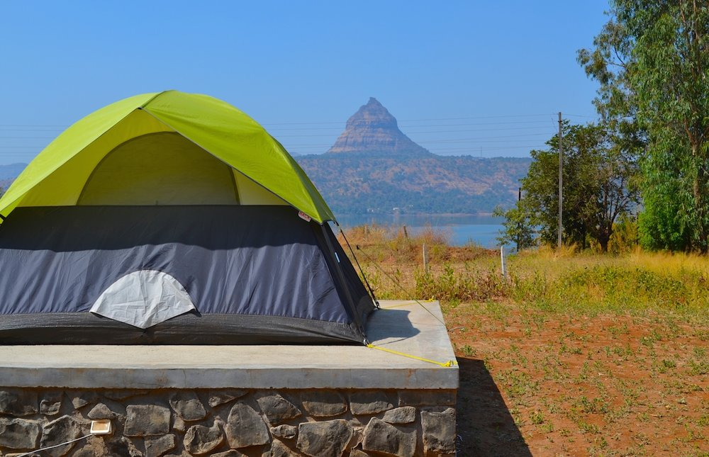 camping weekend getaway from mumbai pune