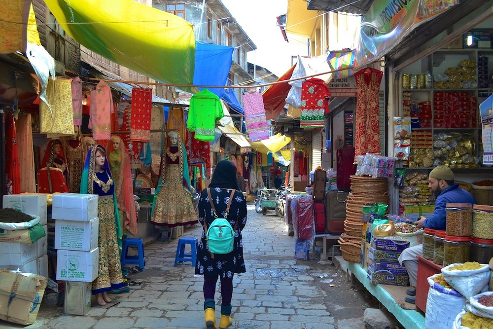 The colours of Old Srinagar.