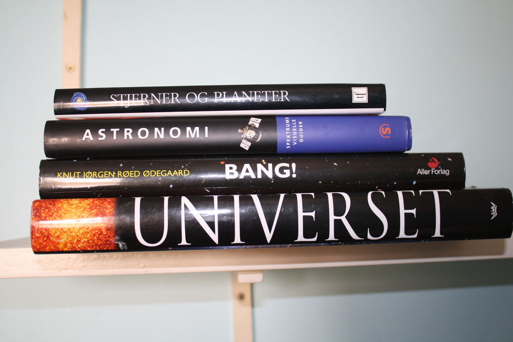 My old Astronomy books