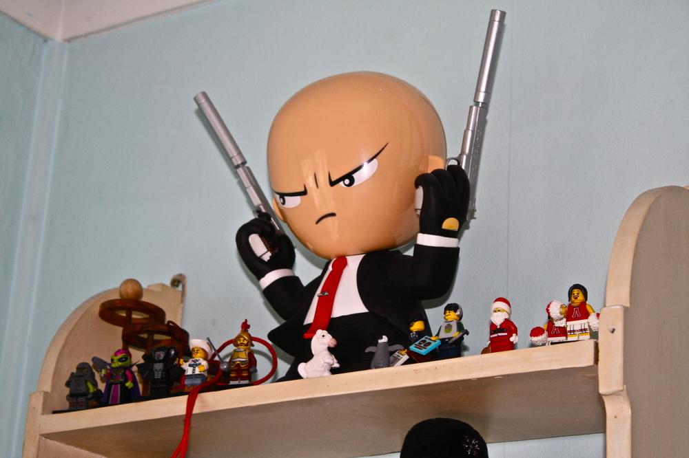 Ken's toys:) I love him!