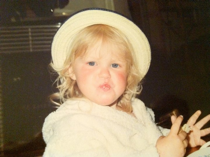 In another fabulous hat! Maybe that was my first fashion statement!