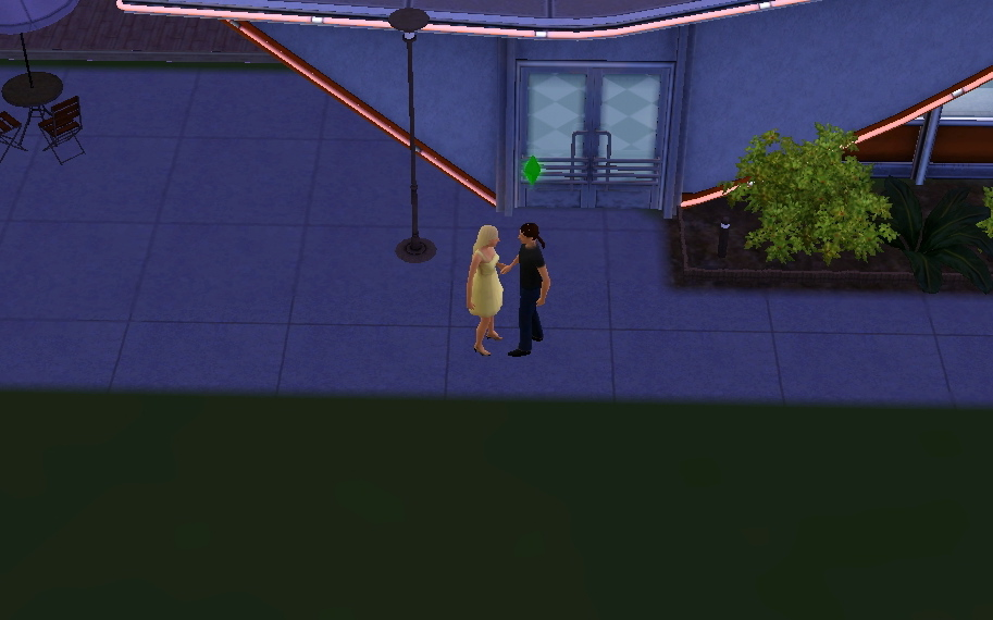 Ken and I on a date :)