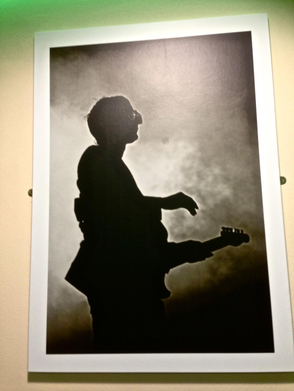 A random Matt Bellamy photograph hanging in a chipper:)