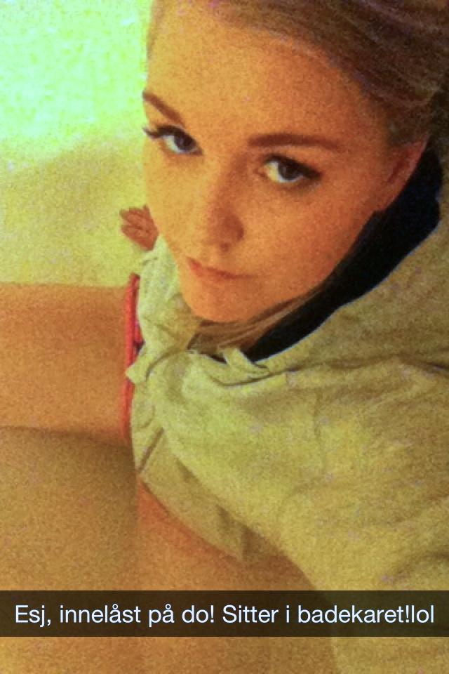 Caption: Ick, locked in toilet! Sitting in the bathtub!lol