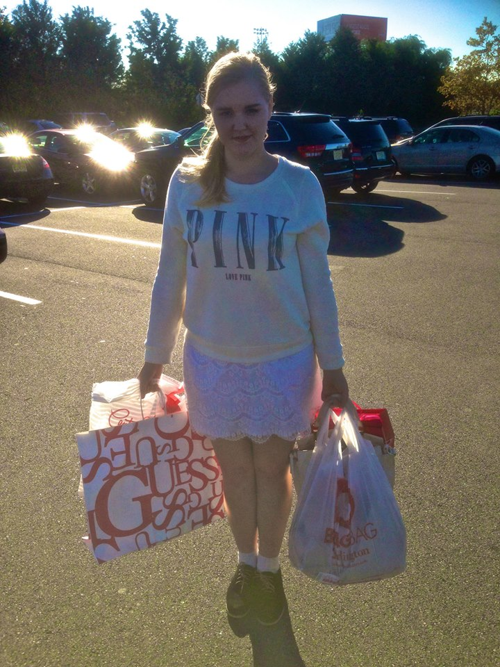 After the shopping spree in New Jersey!