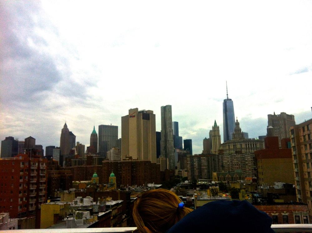 The skyline from Brooklyn!