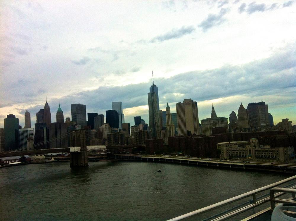 Manhattan seen from Brooklyn!