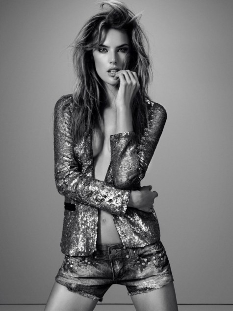 The very, very fierce Alessandra Ambrosio