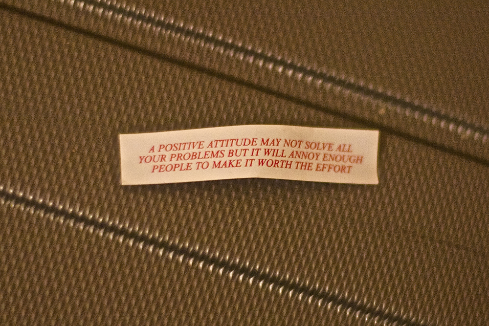 This is a funny fortune I got in a fortune cookie!