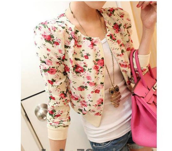 3. Chiffon jacket