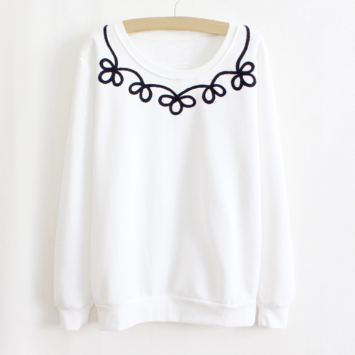 8. Long sleeved loose t-shirt