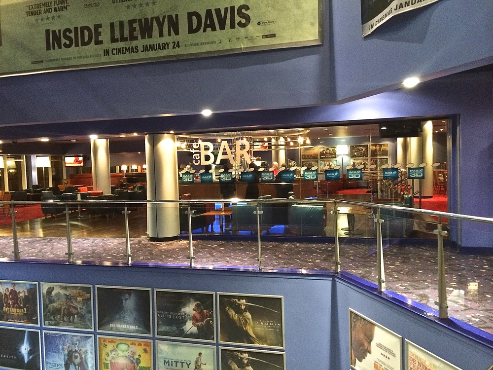 Ireland is the only country I know that would put a bar in a cinema even though there are at least 5 bars around it!