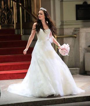 Blair Waldorf First Wedding Dress