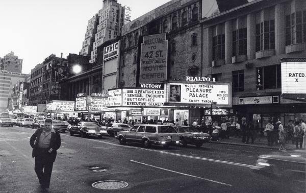 42nd Street NYC, 1982. Photo by: Steven Huszar