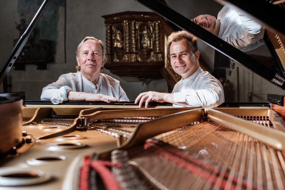 Heinz Spoerli & Charl du Plessis IV,Musikdorf, Ernen, 2017