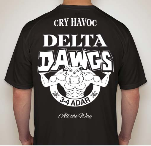 Delta Dawgs T-shirt design
