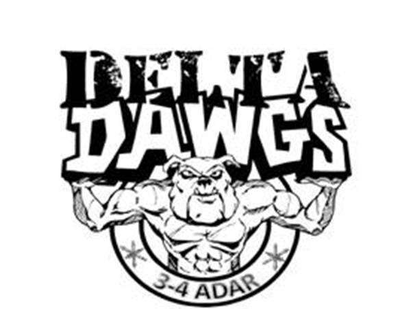 This is the original Delta Dawgs image