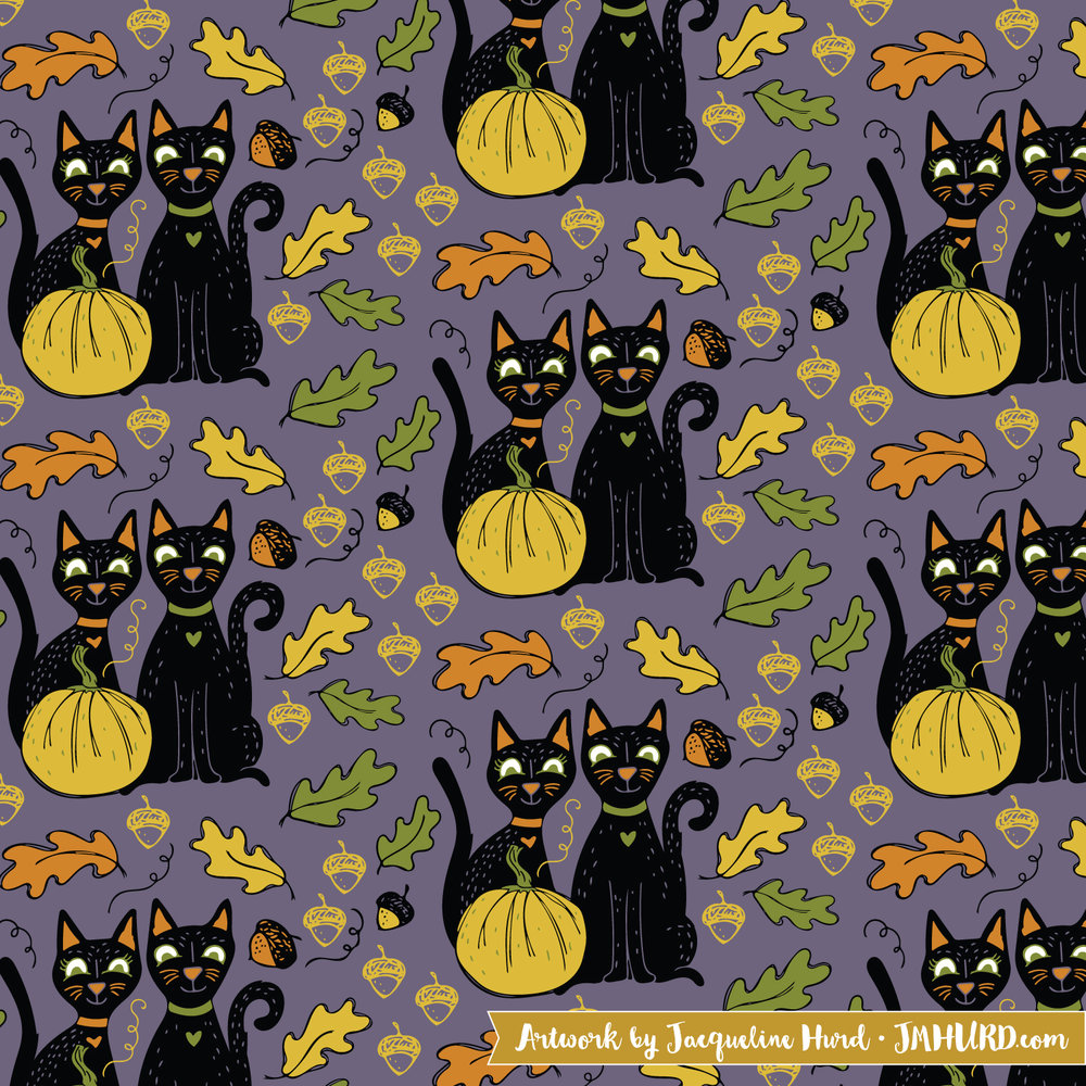 Black Cats and Yellow Pumpkins.jpg