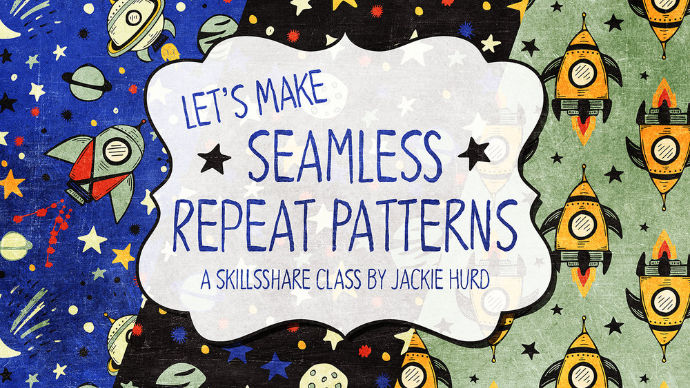 Learn to make, export and apply a seamless repeating pattern.   Take this class to learn a new skill or simplify your current process!