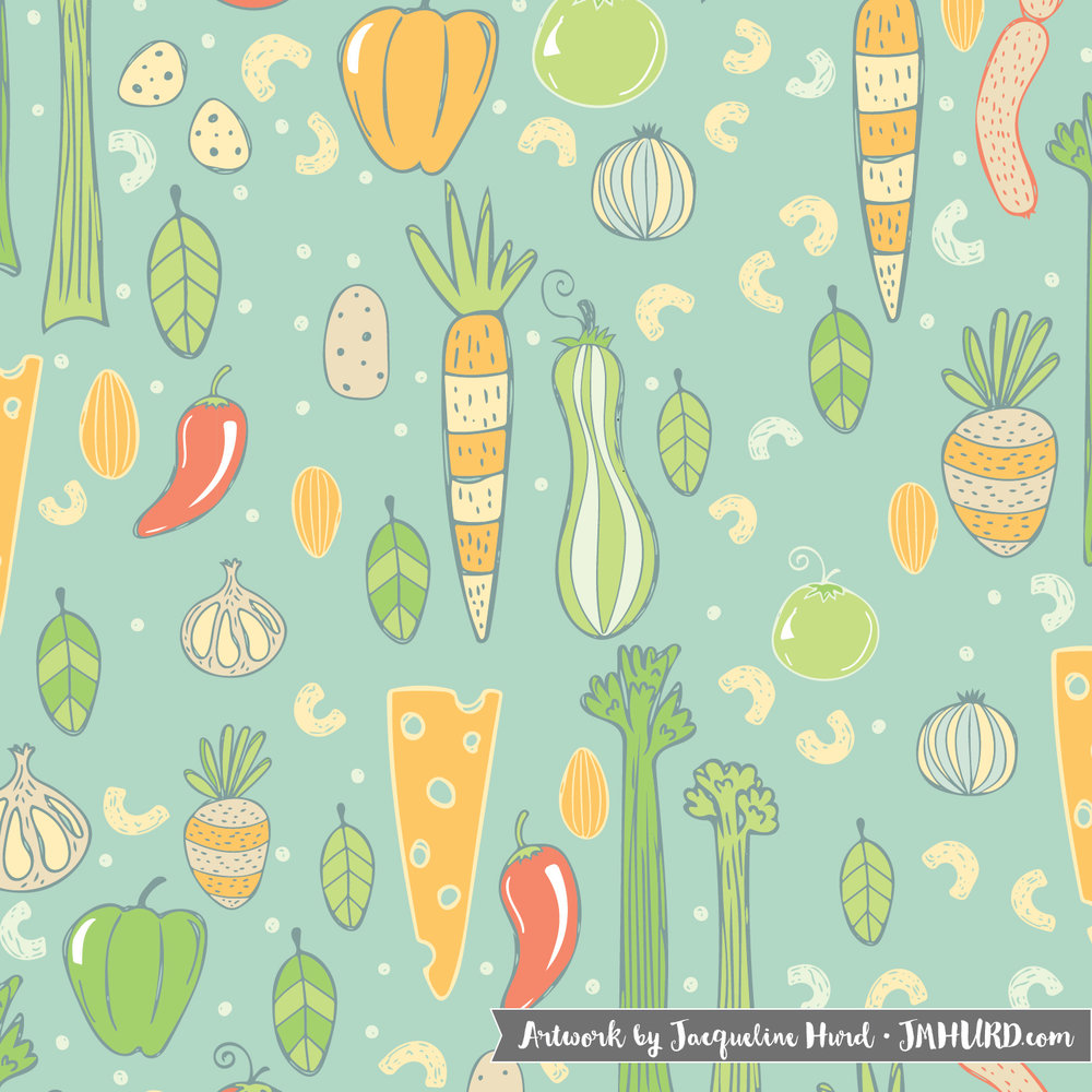 Purchase as a fabric on Spoonflower