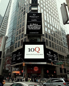 10Q Live in Times Square