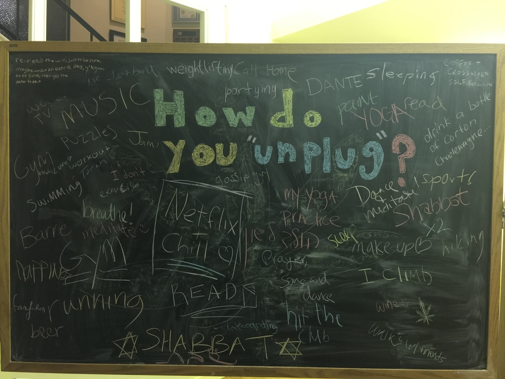 National Day of Unplugging at Cal State