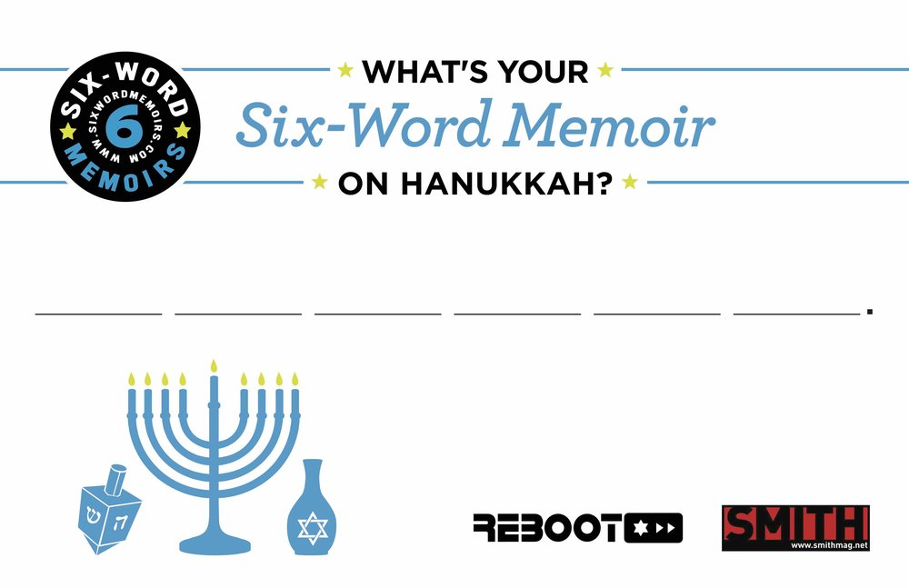 Six Word Postcard on Hanukkah (1).jpg
