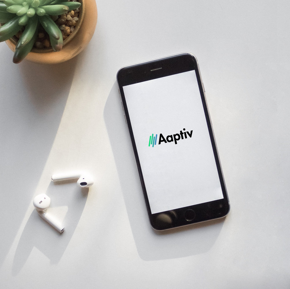 Aaptiv Visual Identity + App Design