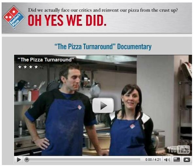 Picture 2: The Pizza Turnaround Campaign (Blog: Stepanic, 2012)